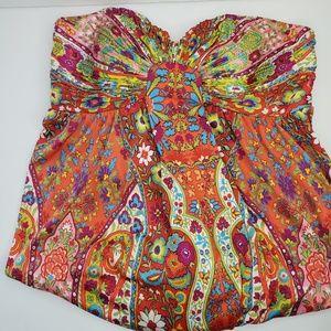 Gorgeous Gianni Bini Strapless Maxi Dress